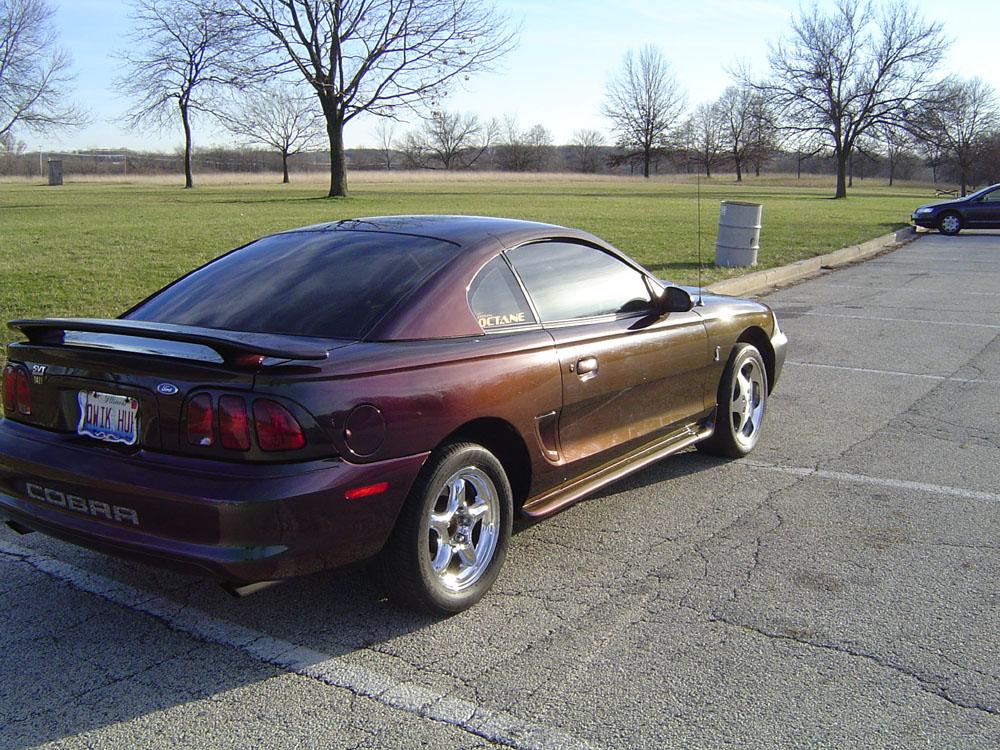 Bobby 1996 Ford Mustang Svt Cobra